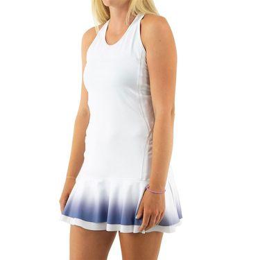 Inphorm Misty Sky Bridget Dress Womens White/Ombre F21002 0224
