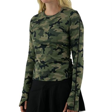 Inphorm Militaire Classic Long Sleeve Womens Camo/Black F21010 0236