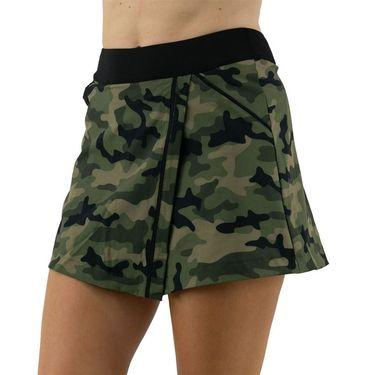 Inphorm Militaire Lana Wrap Skirt Womens Camo/Black F21018 0236