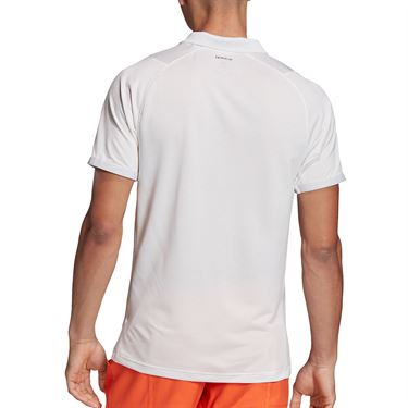 adidas Primeblue Polo Shirt Mens Dash Grey/Black FK0812