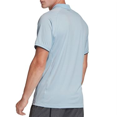 adidas Freelift Polo Shirt Mens Easy Blue FP7962