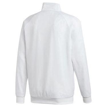 adidas Tennis Uniforia Jacket Mens White/Reflective Silver/Dash Grey FR4316