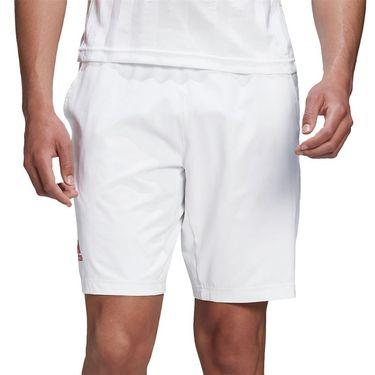 adidas Ergo Engineered Short Mens White/Scarlet FR4319