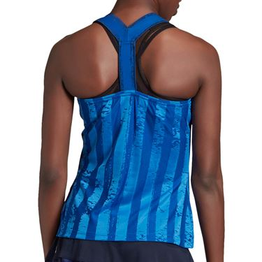 adidas Tennis Y-Tank Engineered Womens Team Royal Blue/White FT6403