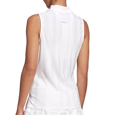 adidas Tennis Match Tank Engineered Womens White FT6408
