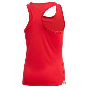 adidas Girls Club Tank Top Scarlet FU0833