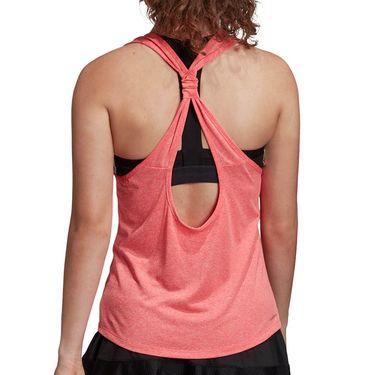 adidas Club Tie-Back Tank Top Womens Flash Red/White FU0886