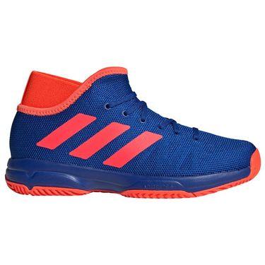 adidas Phenom Junior Tennis Shoe - Blue/Red | Tennis-Point