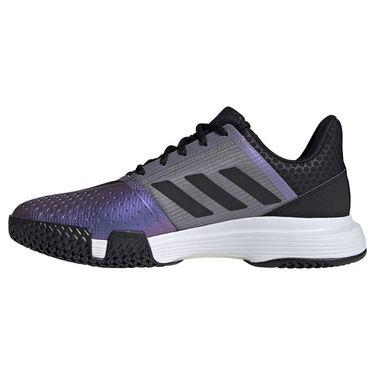 adidas CourtJam Bounce Mens Tennis Shoe Core Black/Grey Two FX1493