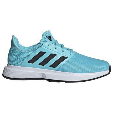 adidas GameCourt Mens Tennis Shoe Hazy Sky/Core Black/White FX1554