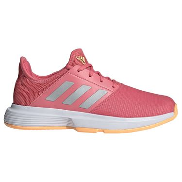 adidas GameCourt Womens Tennis Shoe Hazy Rose/Silver/White FX1559