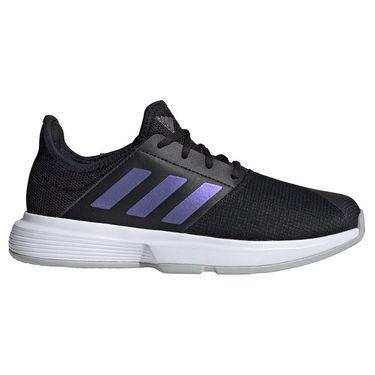 adidas GameCourt Womens Tennis Shoe Core Black/Grey Two FY3378
