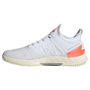 adidas Adizero Ubersonic 4 Mens Tennis Shoe White/Core Black/Solar Red FZ4880