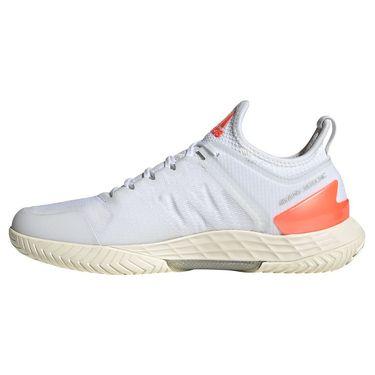 adidas Adizero Ubersonic 4 Womens Tennis Shoe White/Core Black/Solar Red FZ4883