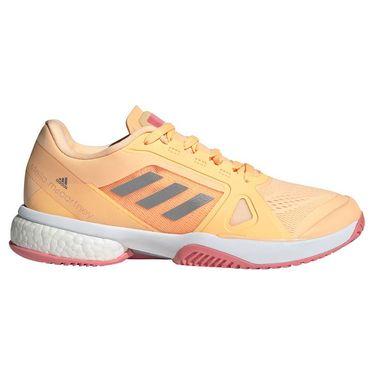 adidas aSMC Womens Tennis Shoe - Acid Orange/Silver/Hazy Rose ...