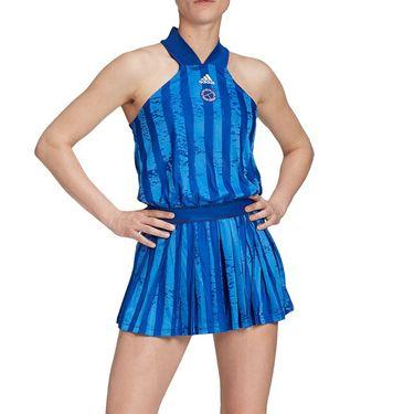 adidas All-In-One Tennis Dress Womens Team Royal Blue/White GH3686