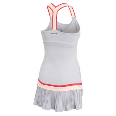 adidas Y Back Dress with Shorties Womens Glory Grey GH4631
