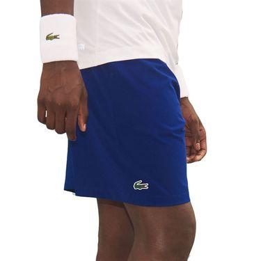 Lacoste Novak Ombre Waistband Short Mens Cosmic/Ultramarine GH6906 QJC
