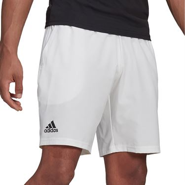 adidas Club 7 inch Short Mens White/Black GH7222