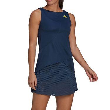adidas Dress Womens Crew Navy/Acid Yellow GH7599