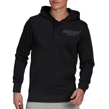 adidas Graphic Hoodie Mens Black GK8158