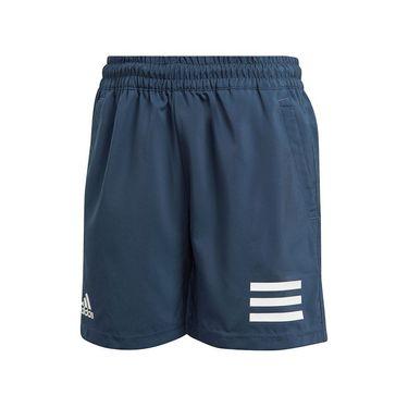adidas Boys Club 3 Stripe Short Crew Navy/White GK8185