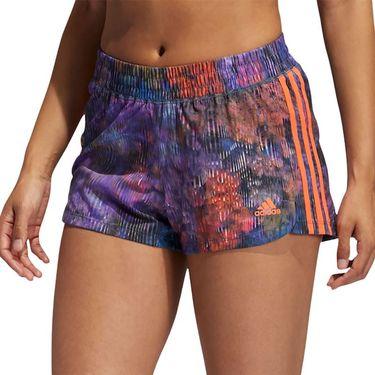 adidas Flower Short Womens Wild Teal/Multi Print GL0712
