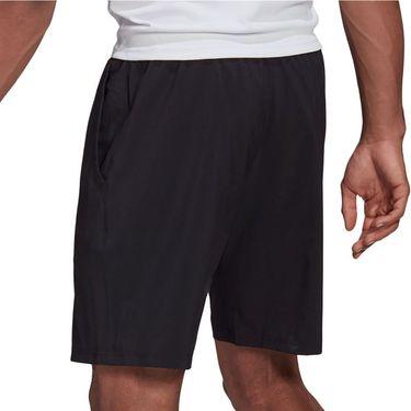 adidas Club 7 inch Short Mens Black/White GL5409
