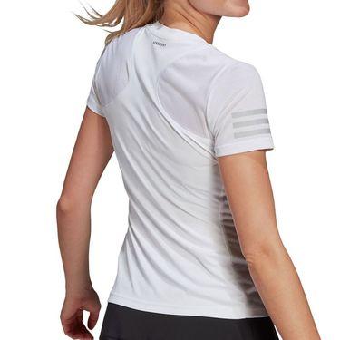 adidas Club Tee Shirt Womens White/Grey Two GL5529