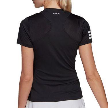adidas Club Tee Shirt Womens Black/White GL5530