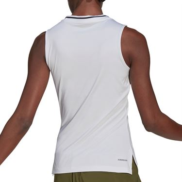 adidas Match Tank Womens White/Black GL6172