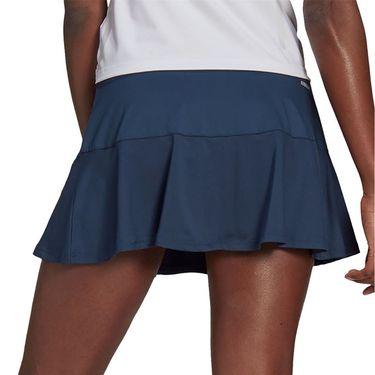 adidas Match Skirt Womens Crew Navy/Acid Yellow GL6202