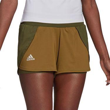 adidas Match Short Womens Wild Pine/Alumina/Wild Moss GL6205
