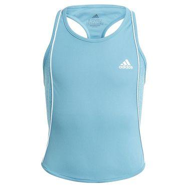 adidas Girls Pop Up Tank Hazy Blue/White GL6210
