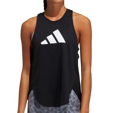 adidas Logo Tank Womens Black/Grey Four/White GM2978