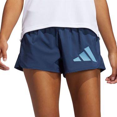 adidas Logo Short Womens Crew Navy/Hazy Blue GM2990