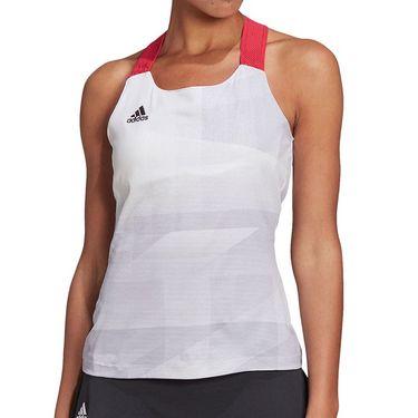 adidas Olympics Y Back Tank Womens White GM4497