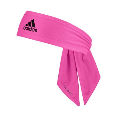 adidas Tennis Reversible Tieband - Pink/Dark Grey/Black/Onix