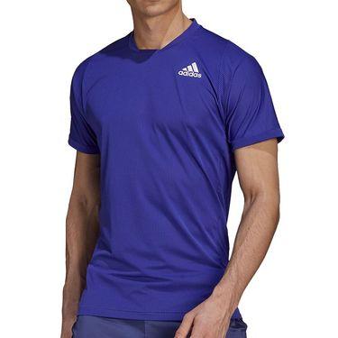 adidas Freelift Tee Shirt Mens Semi Night Flash/Black GQ8933
