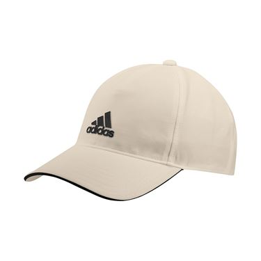 adidas Tennis 4AT Aeroready Hat - Wonder White/Black