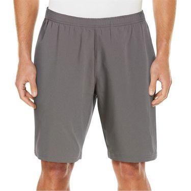 Grand Slam 9 inch Athletic Short Mens Quiet Shade/Caviar GSBSA0F6 084