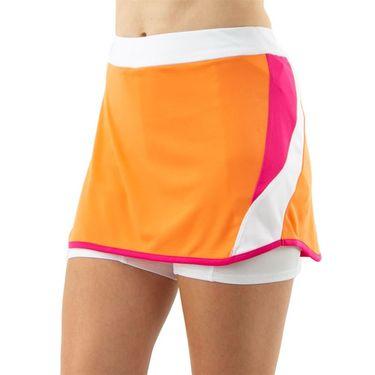 Grand Slam Colorblocked Skirt Womens Brilliant White GSKBSB39 110