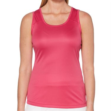 Grand Slam Tennis Solid Keyhole Tank Womens Very Berry GSKSA022 653