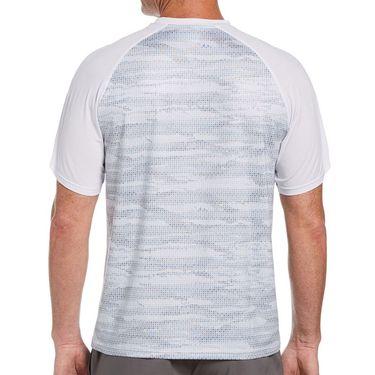 Grand Slam Space Dye Raglan Crew Shirt Mens Bright White GSKSB035 100