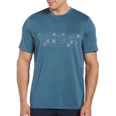 Grand Slam Fashion Crew Shirt Mens Real Teal GSKSB052 465