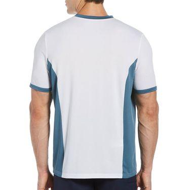 Grand Slam Colorblocked Crew Shirt Mens Bright White GSKSB053 100
