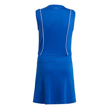 adidas Girls Club Pop Up Dress Bold Blue/White GT6962