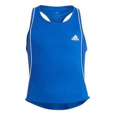 adidas Girls Pop Up Tank Bold Blue/White GT6964