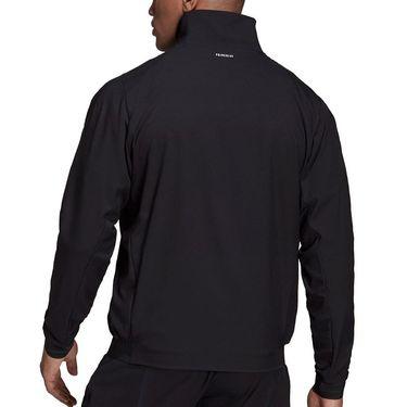 adidas Tennis Stretch Woven Jacket Mens Black/Wonder White GT7821