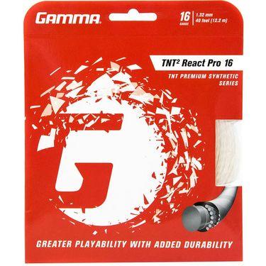 Gamma TNT2 React Pro Natural 16G Tennis String